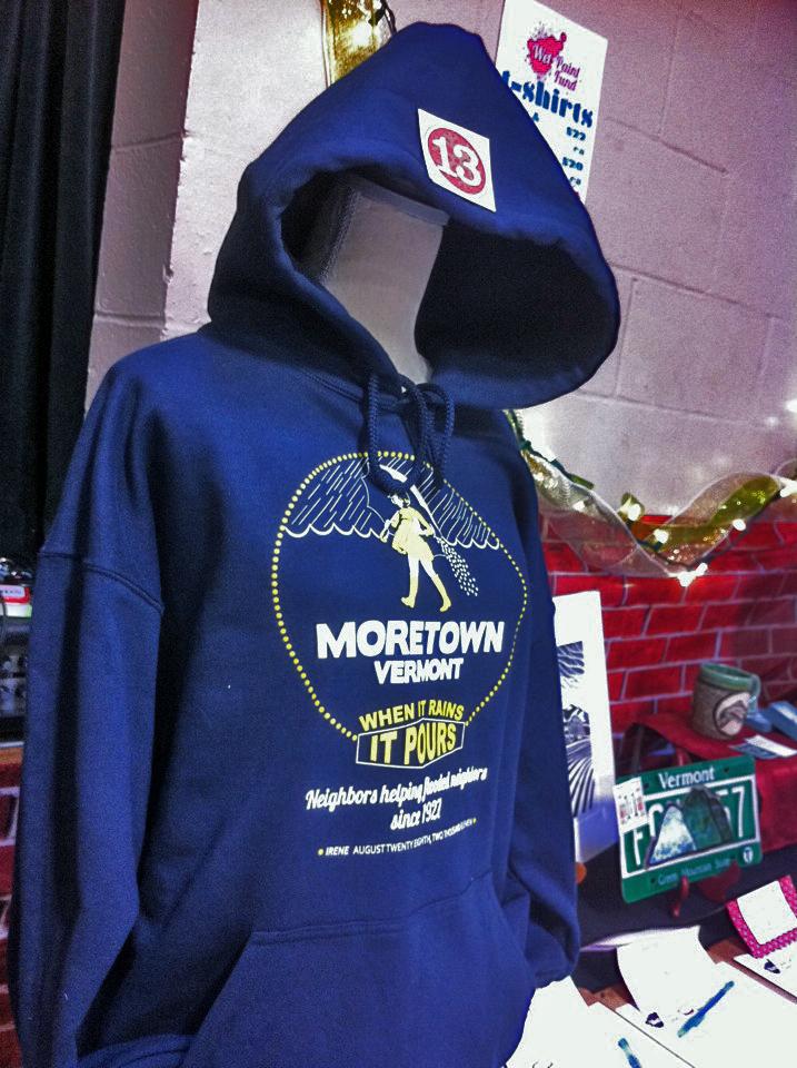 2011 When It Rains Hoodie - Moretown Elementary School