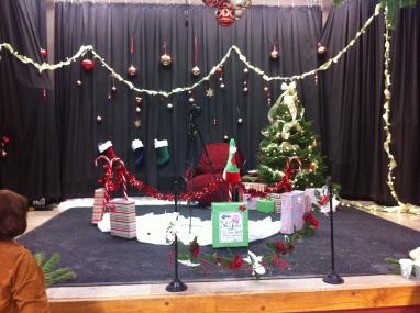 2012 Santa's Spot- Moretown Elementary School