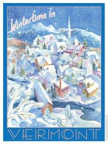 Vermont Poster
